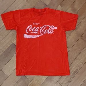 Free with 3 item bundle- Coca Coal t shirt M